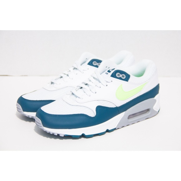 info for f72c3 4a32d Nike Air Max 90 1 Spruce Lime Size 8.5 AJ7695-103